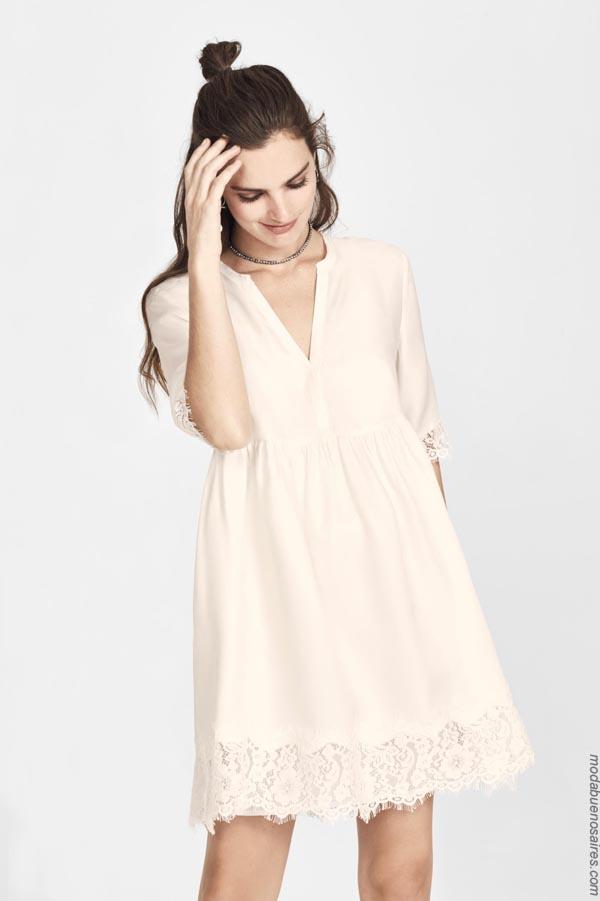 Moda vestidos cortos primavera verano 2019.