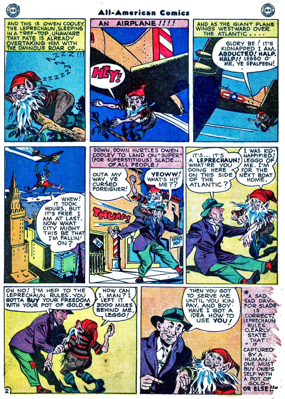 Read online All-American Comics (1939) comic -  Issue #70 - 4