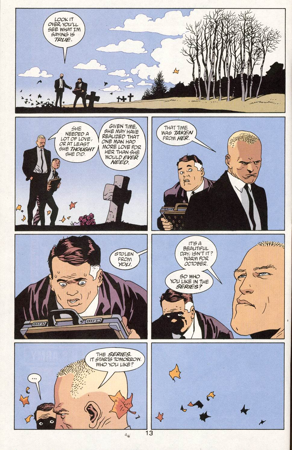 Read online 100 Bullets comic -  Issue #27 - 15