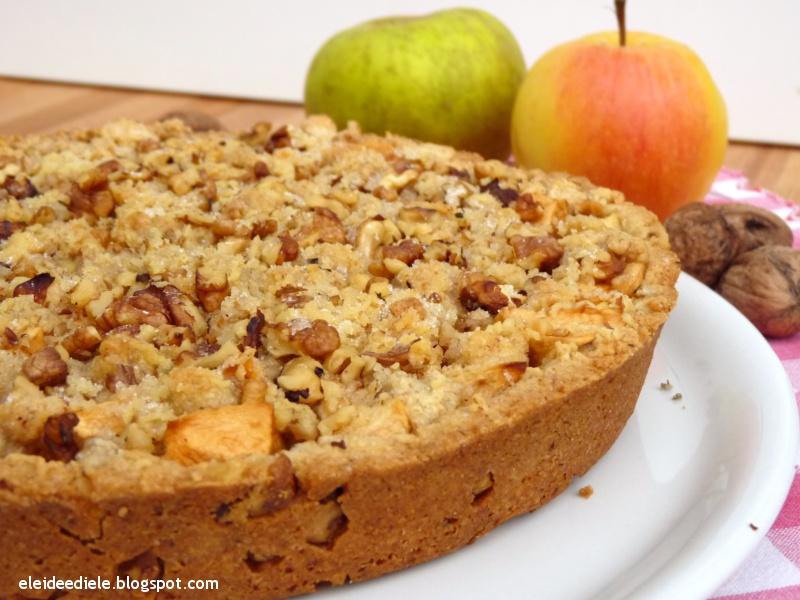 Eleideediele crostata di mele e noci for Crostata di mele
