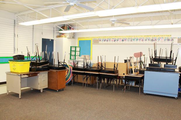 Second Grade Classroom Set Up