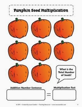 Laura Candler's Pumpkin Seed Multiplication FREEBIE
