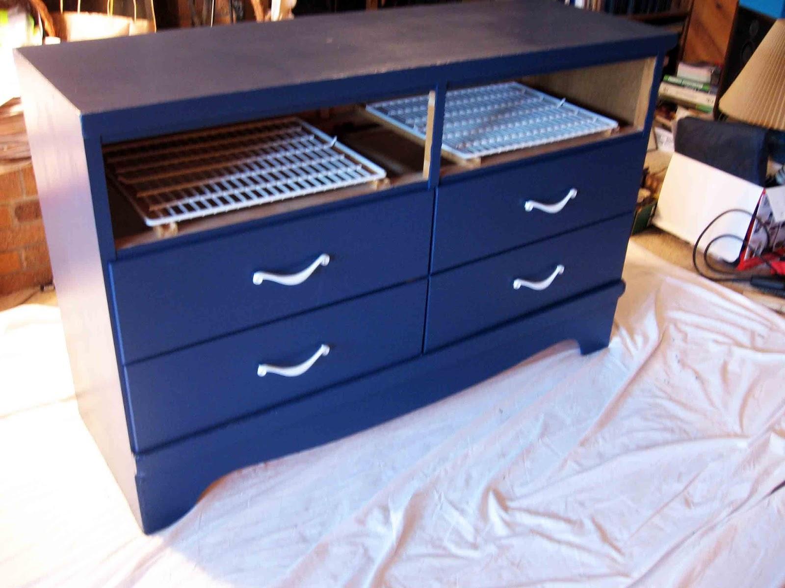 Thumper's Burrow: DIY TV Stand Dresser Make-over