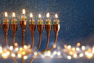CMS: Decoração de Chanukah 02/12/2018. Por Midian Lima!