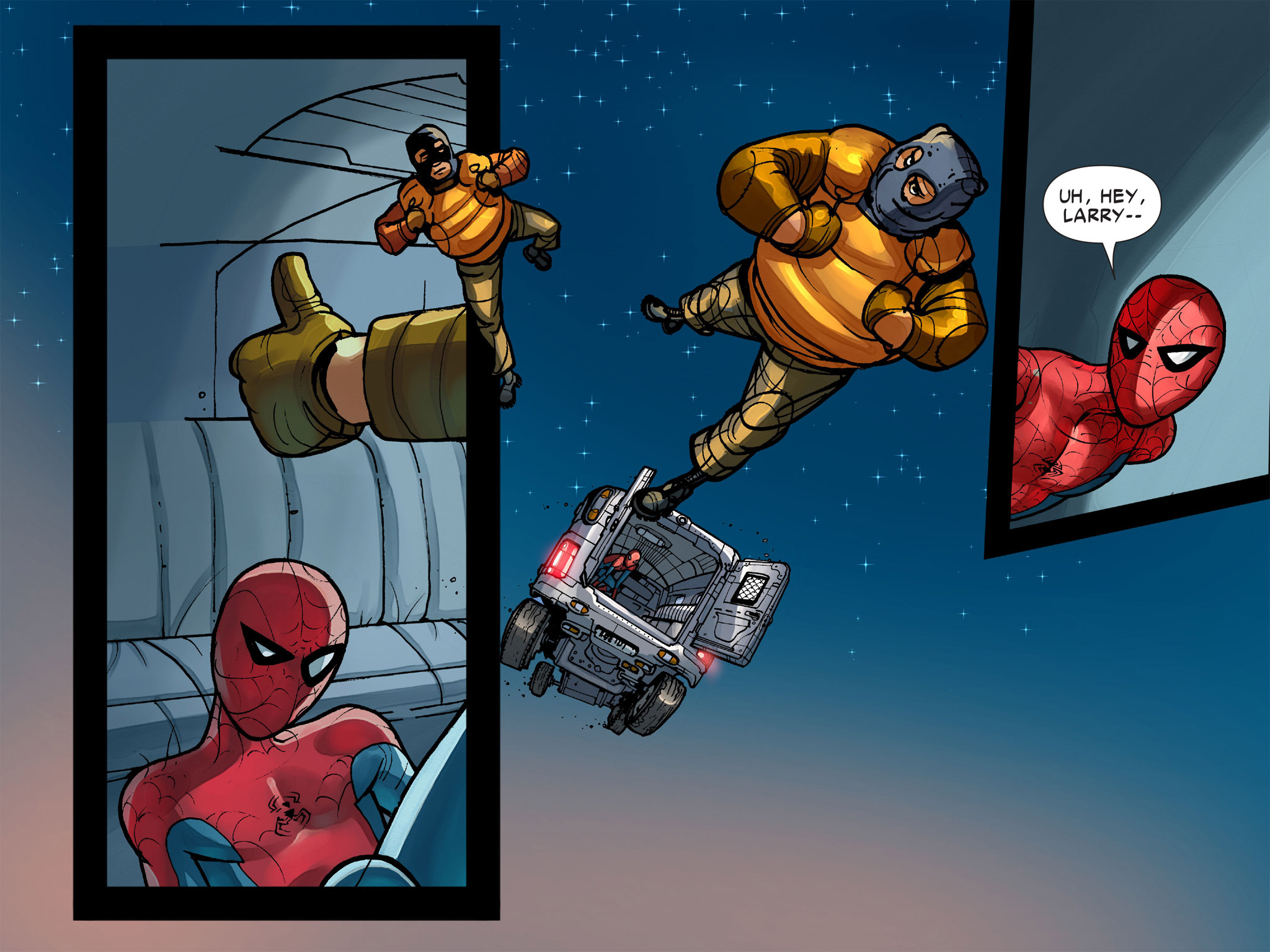 Read online Amazing Spider-Man: Who Am I? comic -  Issue # Full (Part 1) - 123
