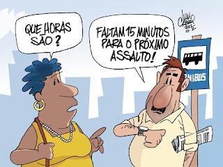 Assaltos constantes na rua Almirante Barroso no Rio Vermelho