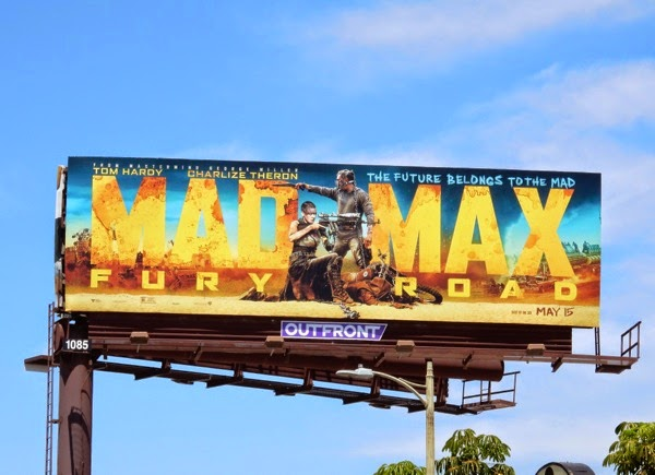 Mad Max Fury Road movie billboard