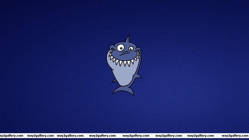 Funny shark wallpaper