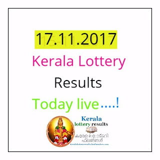 17-11-17 today kerala lottery results