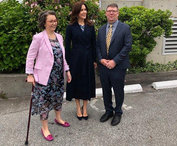 Crown Princess met Danes residing in the Vancouver area