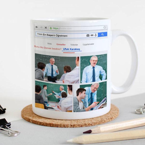 öğretmene özel kupa bardak
