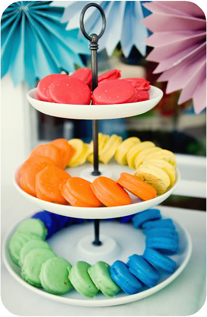 DIY Rainbow Party full of cute ideas! via Kara's Party Ideas KarasPartyIdeas.com