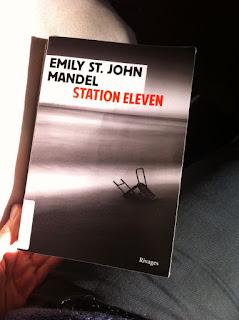 Couverture du roman canadien Station Eleven d'Emily St. John Mandel