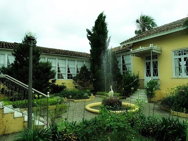 Jardim interno do Museu Carlos Barbosa