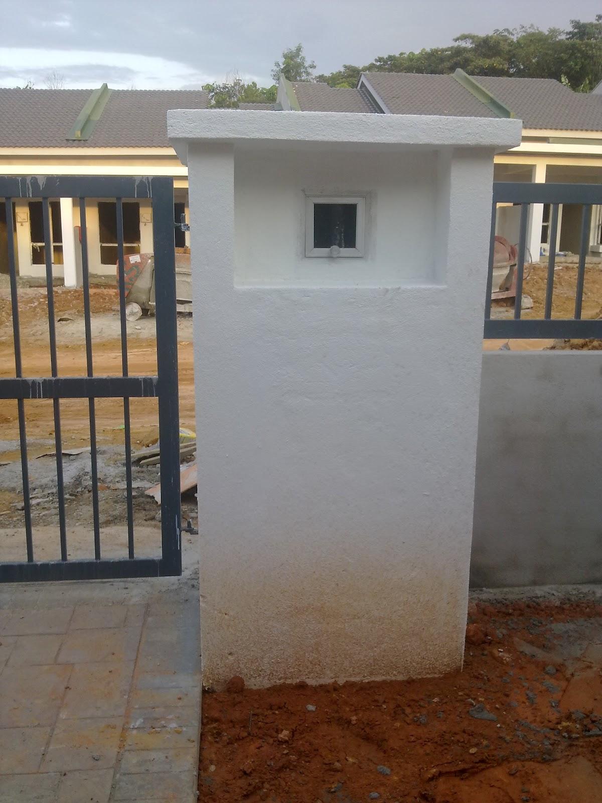 MeNarA KehiDupaN Taman Desa Sri Qaseh 22022012 Gambaran Keseluruhan Projek Rumah Yang Hampir
