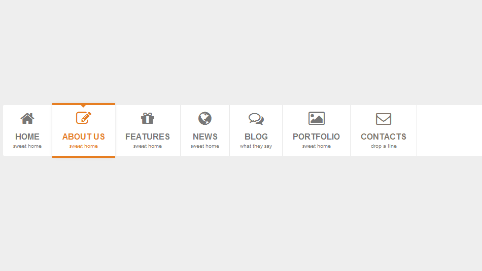 Pure CSS3 Mega Dropdown Menu With Animation