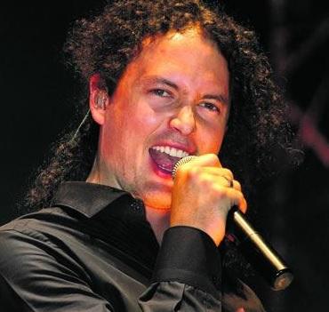 Foto de Fausto Miño en el escenario