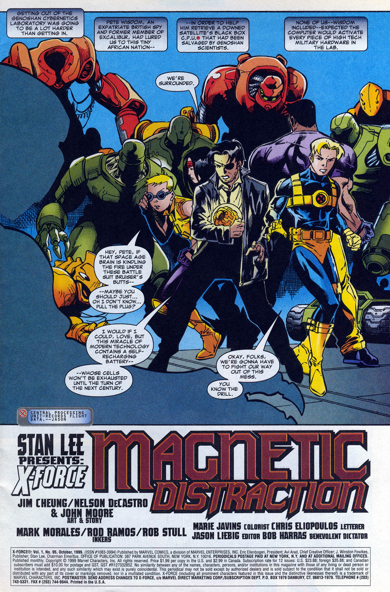Read online X-Force (1991) comic -  Issue #95 - 3