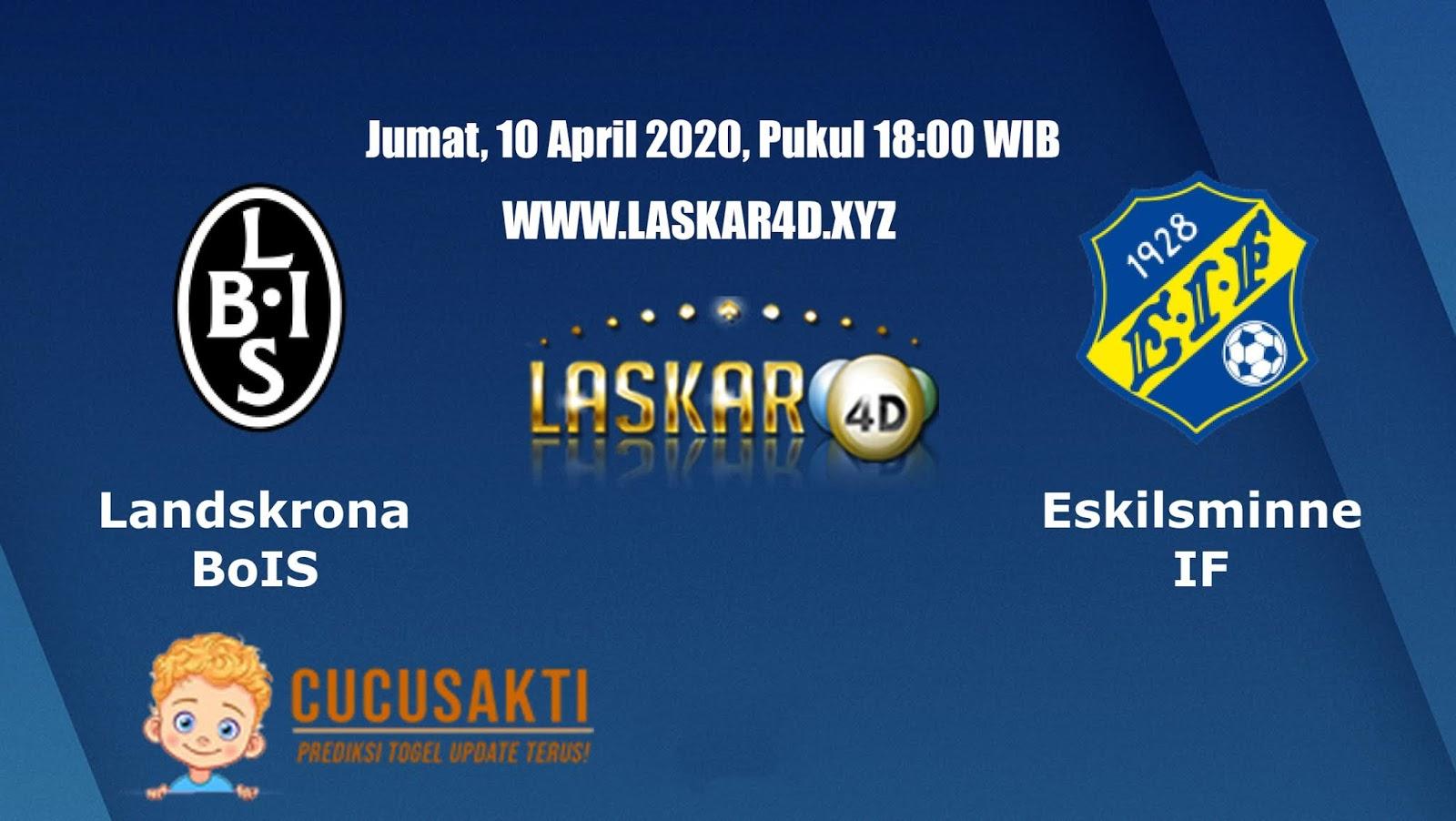 Prediksi Bola Landskrona (Swe) VS Eskilsminne (Swe) 10 April 2020