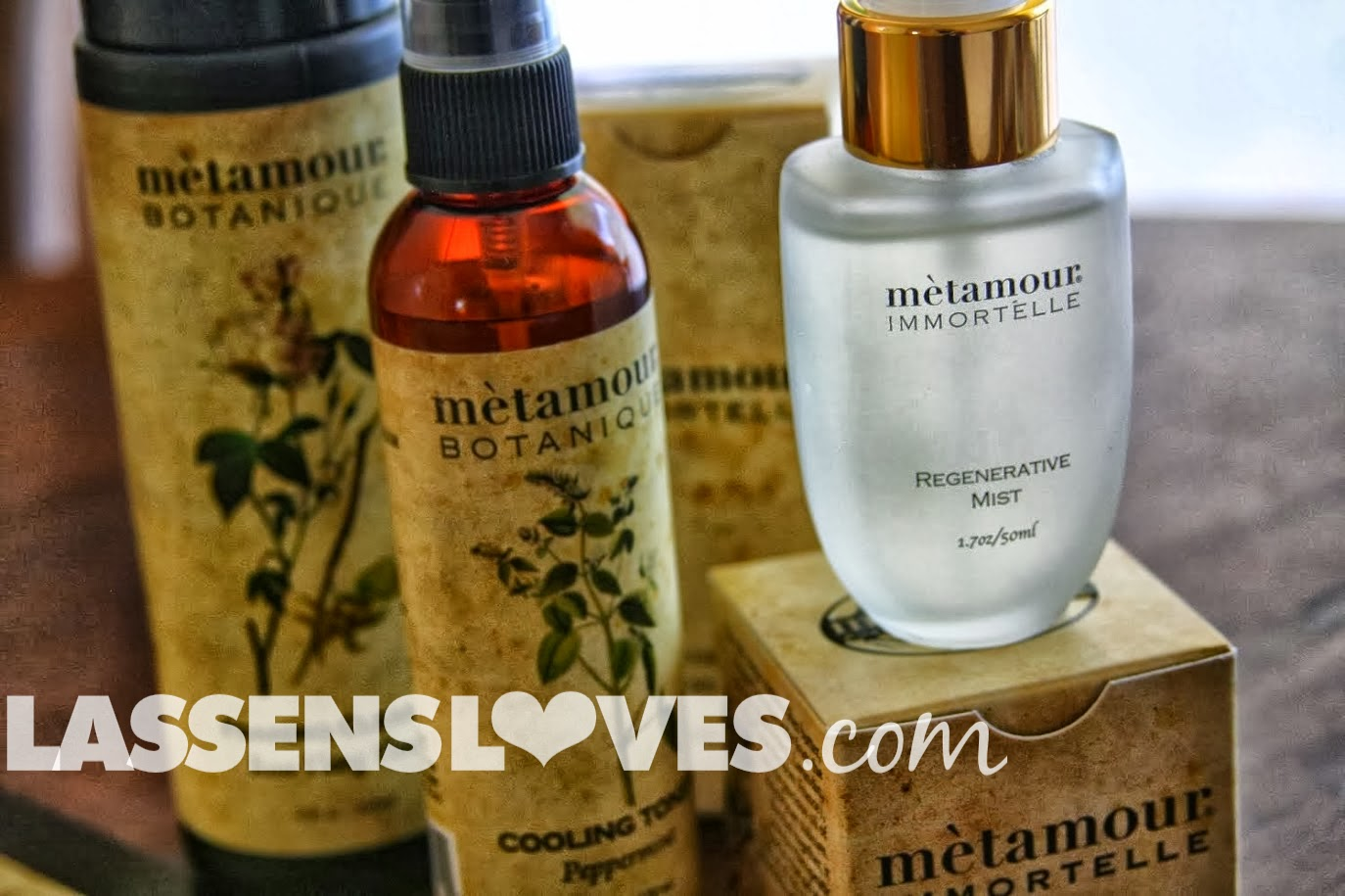 lassensloves.com, Lassen's, Metamour+Immortelle, Metamour+Bontanique, Cooling+Toner, Regenerative+Mist