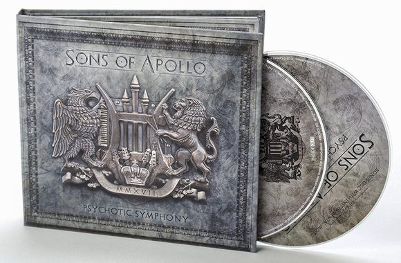 SONS OF APOLLO - Psychotic Symphony [Limited Edition 2CD] (2017) discs
