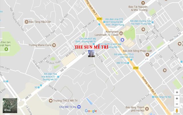 Chung Cư The Sun Mễ Trì Vị Trí Vàng tại Hà Nội
