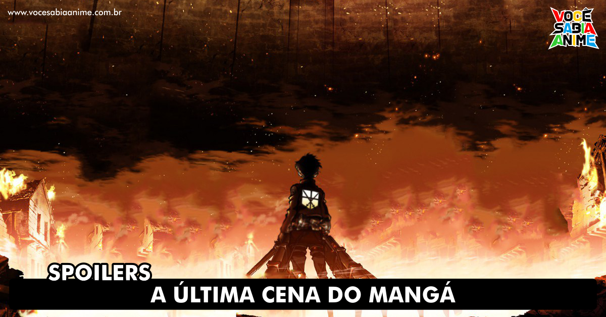 Cena Final do Mangá de Shingeki é Revelada