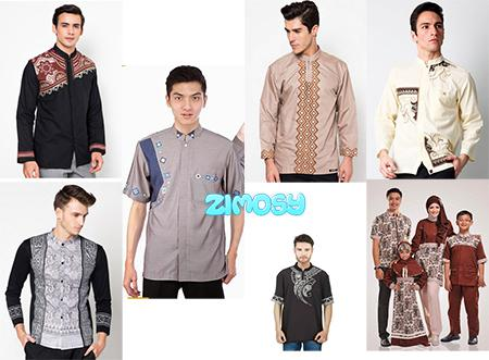 Gambar Model Baju Muslim Lebaran Pria
