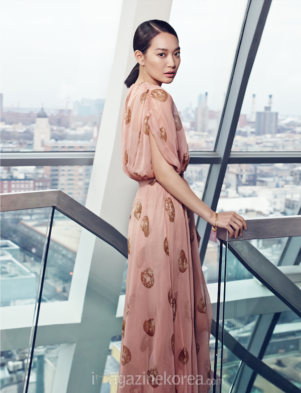 Shin Min Ah, Shin Min Ah Harper's Bazaar, Valentino Spring 2015 RTW