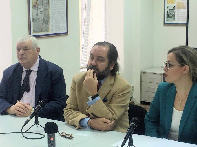 """Рамон Перес - Маура: """"Борим се за правото на журналистите да задават свободно въпроси"""""""