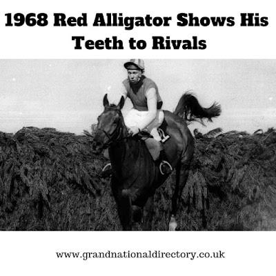 Red Alligator wins Grand National 1968