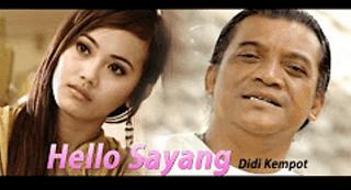 Lirik Lagu Hello Sayang - Didi Kempot