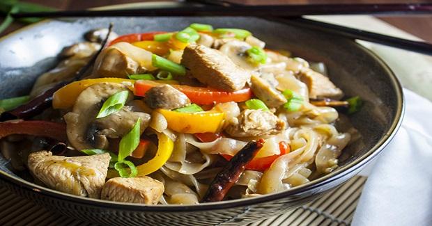 Kung Pao Chicken And Shirataki Noodles Recipe
