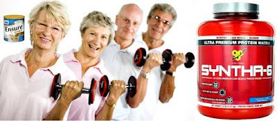 Batidos proteínas adultos mayores Ensure Syntha 6