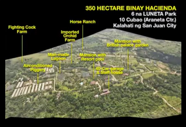 350-ha Hacienda Binay in Batangas