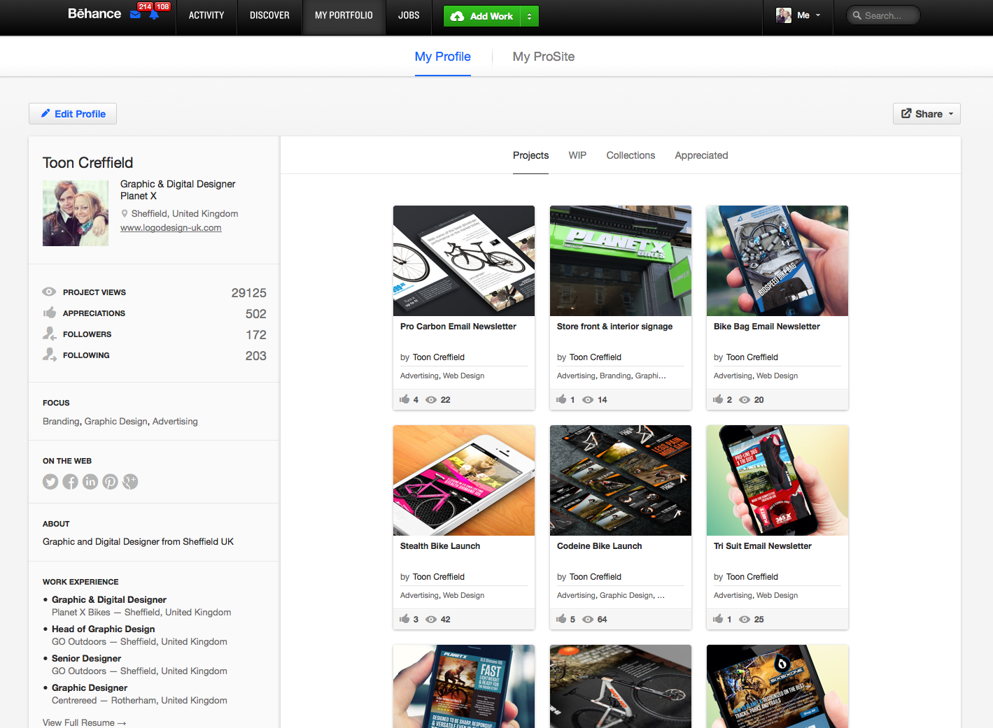Behance Network :: Creative Portfolios, Projects, and Collaborations