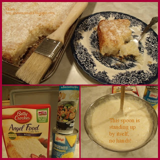 angel food and pineapple easy cake to make New End Studio