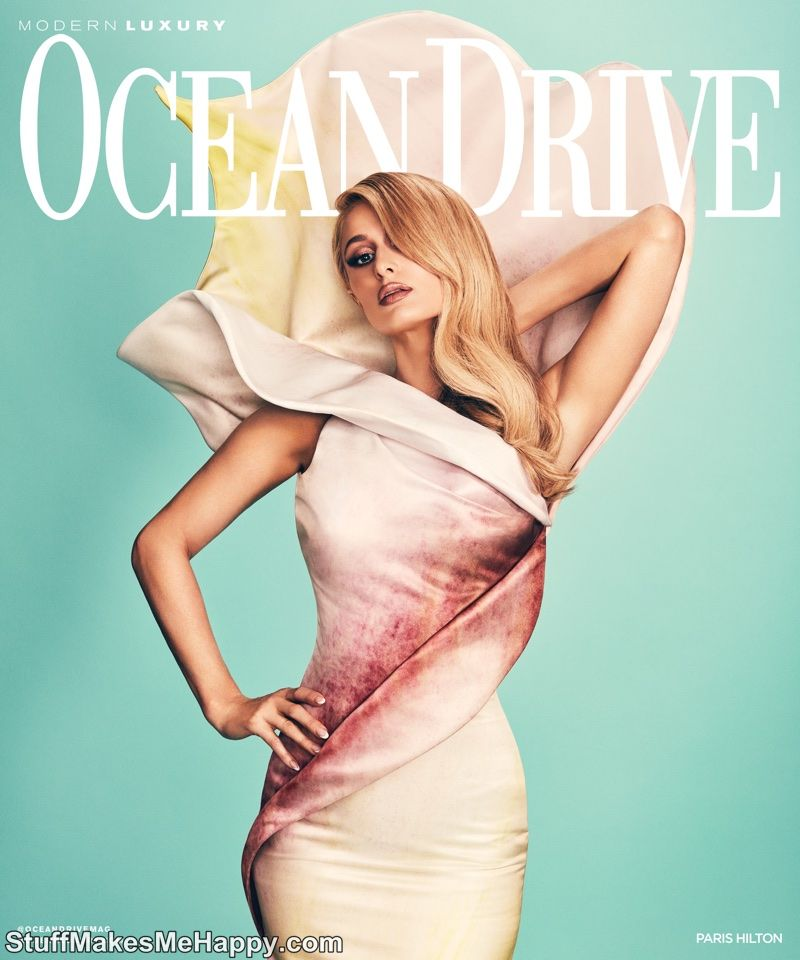 Paris Hilton Gorgoeus Photoshoot for Ocean Drive