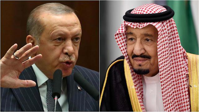 Raja Salman Telepon Erdogan Bahas Hilangnya Jamal Khashoggi