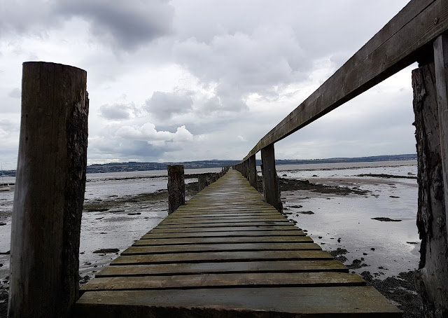 the pier at Culross