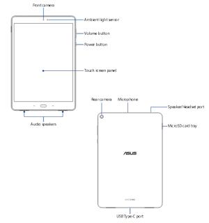ASUS ZenPad 3S 10 (Z500M) manual PDF download (english)