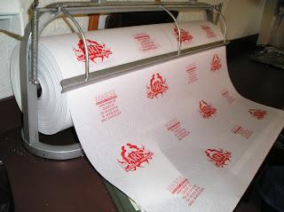 papel en rollo impreso antihumedad