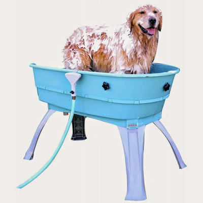 Booster Bath Elevated Dog Wash Tub