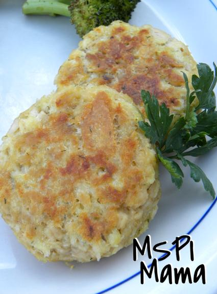 Panko Salmon Cakes Recipe
