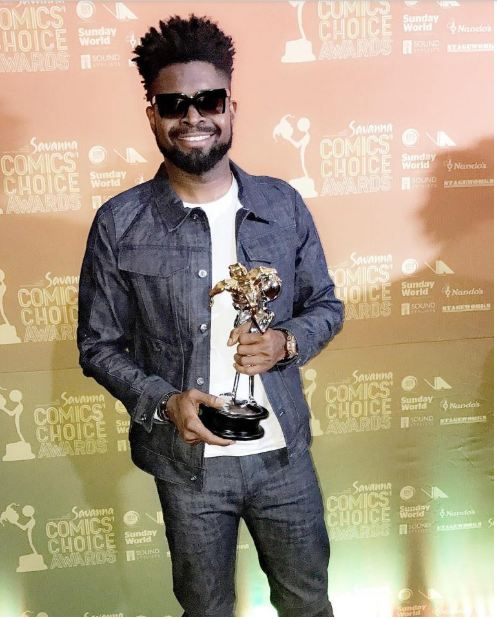 Basketmouth named Pan African comedian of the year in South Africa