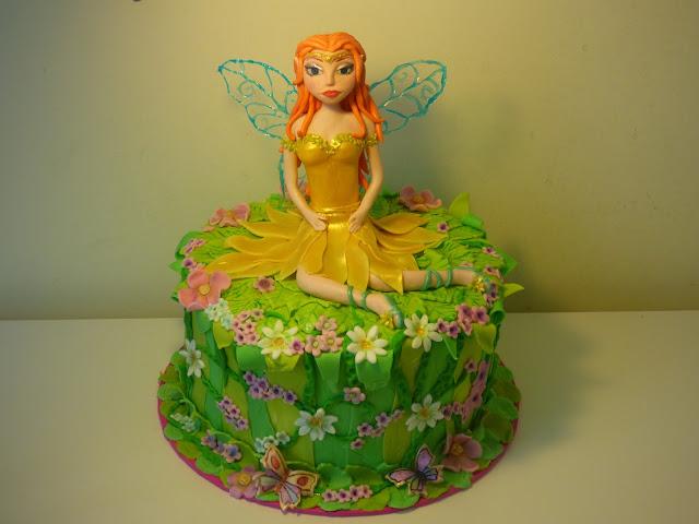 Fonadant fairy cake
