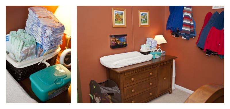 Purposeful Parenting - Home Organization - Diaper Stations