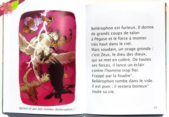 Contes et Héros : Pégase, le cheval ailé de Hélène Kérillis et Annette Marnat - Hatier jeunesse