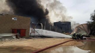East Madrid blast