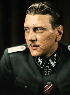 Otto Skorzeny Color photos of German officers worldwartwo.filminspector.com